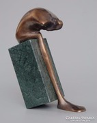 Fischer György bronz kisplasztika