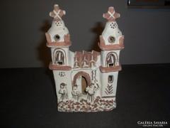 Régi kerámia templom