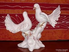 Porcelán galamb pár