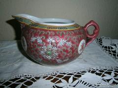 Kínai kézzel festett porcelán kiöntő
