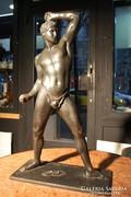Antonio Canova!!! (1757-1822)  Apolló bronzszobra - eredeti!