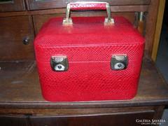 Vintage kozmetika koffer