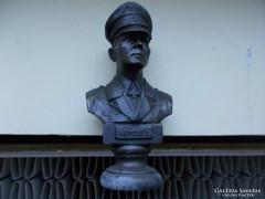 WW2,General Fieldmarshal Erwin Rommel,bronz szobor