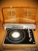 Videoton RA 4301 S Apolló rádió Supraphon HC 12 lemezjátszó