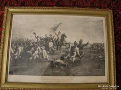 """Napóleonnal vívott """" asperni"""" csata"""