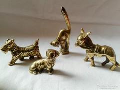 Sárgaréz miniatűr állatsereg :-)