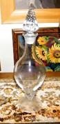 """Üveg """"palack"""" - nem mindennapi! 36 cm."""