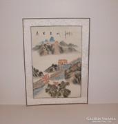 Kínai Nagy Fal, kínai festmény