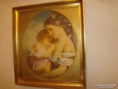Antik  barokk kép eladó!