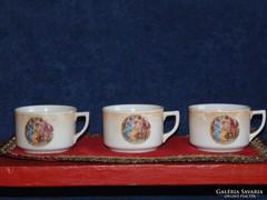 Drasche jelenetes csészék