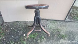 Thonet jelzett zongora szék