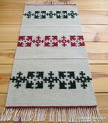 'HAVAS' kézzel szőtt gyapjú szőnyeg, faliszőnyeg, terítő