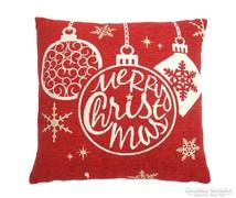 ÚJ!! Christmas Bauble karácsonyi díszpárna 43x43 cm