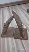 Bronz szobor pár
