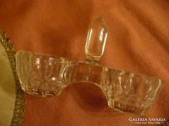 Üveg só- és paprikatartó