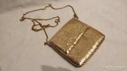 Aranyozott fém táska alkalmi táska