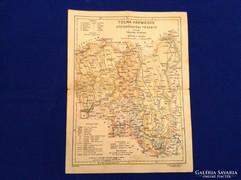 Tolna vármegye térkép
