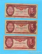 100 Forint 1949  450 Ft/ DB