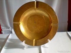 Réz hamutál hamutartó 18 cm