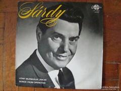 Sárdy János énekel bakelit lemez