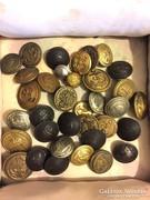 Antik katonai gombok