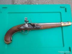 M1798 osztrák-magyar kovás pisztoly (huszár)