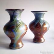 Vandermark-Meritt Studio art deco üvegváza-pár