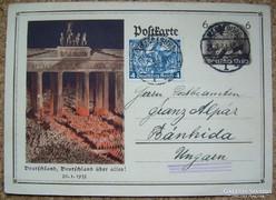 Díjegyes képes levlap Deutsches Reich