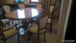 Komplett ebédlő bútor