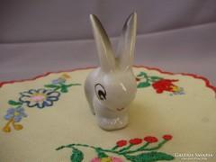 Hollóházi art deco porcelán nyuszi