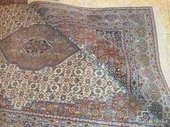 Gyönyörű Bidjar kézicsomozású perzsa szőnyeg