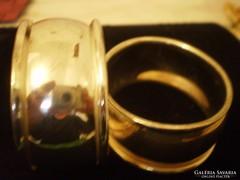 Ezüstözött Szalvétagyűrű