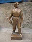 Munkásőr és martinász szobor
