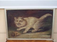 HEYER ARTUR: eredeti festménye