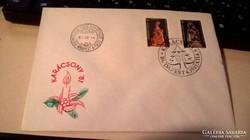 1981-es Karácsonyi elsőnapos boríték