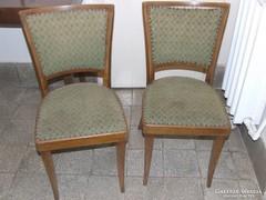 4 db régi fa szék