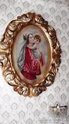 Antik Florentin keretben Mária a Kisdeddel