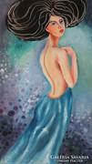BLUE DREAM-B.Tóth Irisz festmény