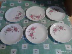 Virágos süteményes tányér (Bavaria)