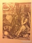 Albrecht Dürer - Melencolia I - repro, nagyon szép!