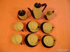 Hollóházi Art Deco kávéskészlet picit hiányosan !