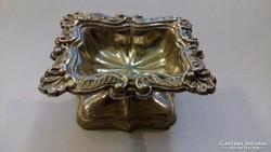 Neobarokk stílusú ezüst fűszartartó