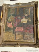 Boemm Ritta (1868 – 1948) : Enteriőr