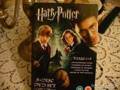 HARRY POTTER 5 db-os DVD angol nyelven