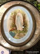 Szép, rézkeretes szentkép