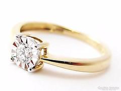 Brillköves gyűrű  (Szeg-Au63134)