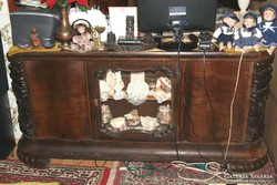 Antik art deco íróasztal