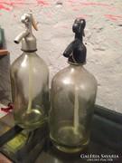2 DB 1literes Szódás üveg