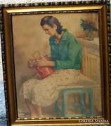 Járossy Gyula akvarell