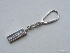 Ap 388 - 925 tömör ezüst lapka rúd kulcstartó